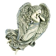 "Gorgeous Glittered Wings Angel Wall Decor 15 X 13 X 3"" Angel Collectible"