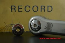 Steel chrome dust caps for Ofmega Campagnolo Nuovo Super Record Crankset pista