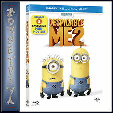 DESPICABLE ME 2  *BRAND NEW  BLU-RAY *