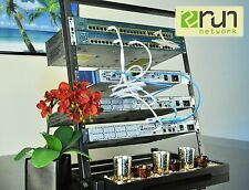 Cisco  Premium CCENT CCNA CCNP R&S SECURITY Home Lab KIT 12U Rack Included
