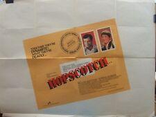 Walter Matthau  Glenda Jackson HOPSCOTCH(1980) Original UK quad movie poster