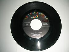Johnny Nash - As Time Goes By / Voice Of Love  45  ABC Paramount VG 1959