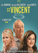 St. Vincent (Blu-ray Disc, 2015, Canadian)