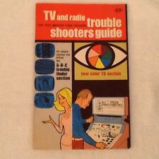 Vintage 1964 TV and Radio Trouble Shooters Guide Mint Sherry Enterprises