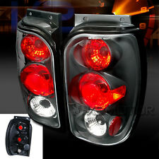 1998-2001 Ford Explorer Altezza Tail Lights Black Pair