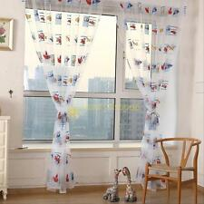 Toddler Car Window Treatment Drape Curtain Panel Sheer Scarf Valances for kid