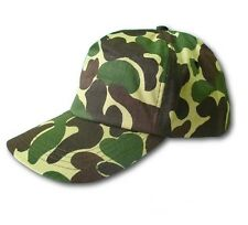 CAMO HAT BASEBALL CAP MILITARY ARMY ADJUSTABLE CAMOUFLAGE FISHING TRUCKER