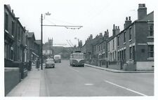 Yorks Rotherham MEXBOROUGH Albert Rd Trolley Bus #521 1959 Photograph Packer