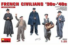 Miniart 38004 1/35 French Civilians '30s-'40s