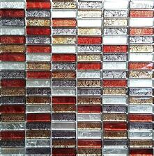 Hong Kong Autumn Mix Brick Glass Mosaic
