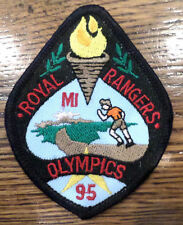 Mi. Olympics 1995  Royal Rangers Rr Uniform Patch