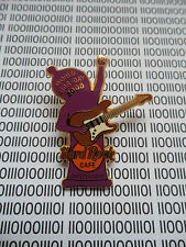 Hard Rock Cafe Amsterdam - World Aids Day , Purple Condom Playing Guitar Pin