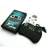 i8+ Wireless Mini Keyboard Mouse Touchpad with Backlight + FREE USB Card Adapter