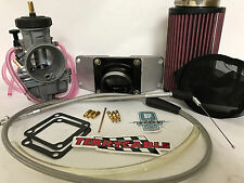 Yamaha Banshee 350 Keihin 35 PWK 2 to 1 CV Manifold Single Carb Kit Carburetor