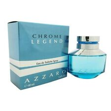 CHROME LEGEND by Azzaro Cologne for Men 1.4 oz New in Box
