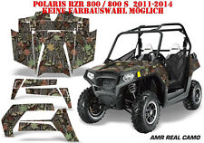 Amr racing decoración Graphic kit ATV Polaris rzr 570/800/900 amr real camo B