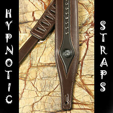 HYPNOTIC STRAPS BROWN PERSIA STUDED STUDS PADDED GUITAR, BASS,ACOUSTIC STRAP