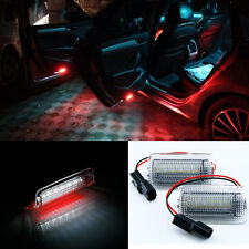 2x LED Super Bright Dual-Color Flicker 18-SMD Door Lights For Lexus IS ES RX GX