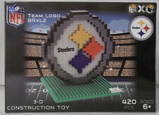 Pittsburgh Steelers BRXLZ Team Logo 3D Toy PUZZLE 420 Pcs SET NFL Ages 12+ GIFT