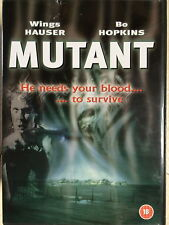 Wings Hauser Bo Hopkins MUTANT aka NIGHT SHADOWS ~ 1984 Cult Horror | UK DVD