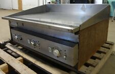 """ KEATING "" HEAVY DUTY COMMERCIAL STAINLESS STEEL 36"" ELECTRIC FLAT-TOP/GRIDDLE"