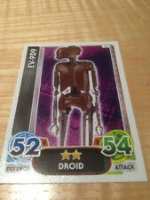 STAR WARS Force Awakens - Force Attax Trading Card #073 EV-9D9