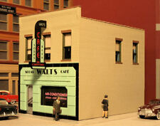 "THE MAIN STREET CAFE KIT BY CITY CLASSICS HO-SCALE - 4-1/4""L X 3-1/8""W X 3-3/8""H"