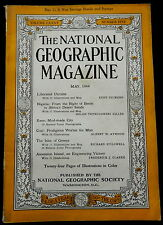 National Geographic Magazine May 1944 UKRAINE - NIGERIA - KANO - GREECE - COAL -
