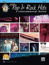 Easy Pop & Rock Hits Instrumental Solos for Strings: Violin (Book & CD) (Easy In
