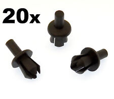 20x BMW E39 5mm Plastic Expanding Rivet Clips for Front Wheel Arch Liner /Lining