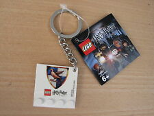 LEGO Harry Potter RAVENCLAW House Crest Keychain 4599520 GAME STOP EX Promo RARE