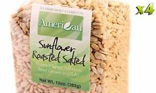 40oz Gourmet Style Bags of Roasted Salted Hulled SunFlower Seeds [2 1/2 lbs.]