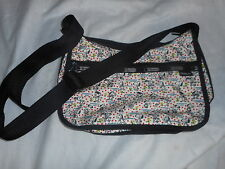 New Auth.LeSportsac Hobo Peanuts Print Shoulder Bag wmatching zipper case