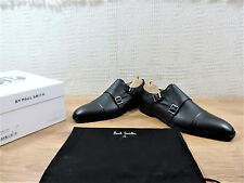 New Paul Smith Men's Black Double Buckle shoes UK 7 US 8 E 41