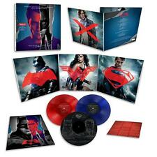 Batman v Superman - Limited Edition Deluxe RED BLUE COLOURED vinyl LP