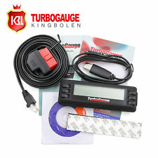 TurboGauge IV Digital Gauge 4 in 1 Automotive Computer Scan Tool Car Code Reader