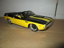 1/24 MAISTO ALL STARS Dodge challenger  convert  PRO RODS  LOOSE damaged