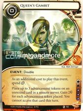 Android Netrunner LCG - 1x Queen's Gambit  #102 - Double Time