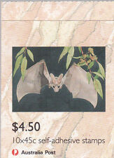 1992 Threatened Species Stamp Booklet (SB78) - 1 Kangaroo 1 Koala Reprint