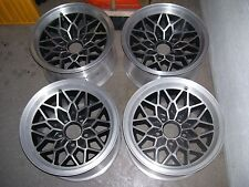 4 very nice black 15x8 transam trans-am Ws6 snowflake wheel 77 78 79 or 67-81
