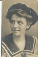 AK *Junge Frau in Matrosenlook **Vintage- Jugendstil