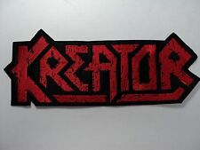 KREATOR EMBROIDERED BACK PATCH