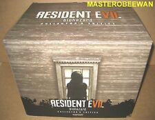 PS4 Resident Evil 7 Biohazard Collector's Edition New + Bonus DLC (U.S. Ver