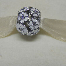 Pandora 791488EN12  Primrose Meadow White  Enamel Bead Box Included