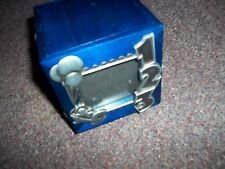 Royal Limited Silver & blue wood music box plays twinkle twinkle little star