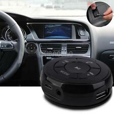 Wireless Bluetooth handsfree Car kit Stereo Music Receiver AUX Speaker FM + TF