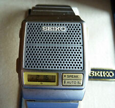 SEIKO A965-4000 Talking Watch, Sprechende Uhr
