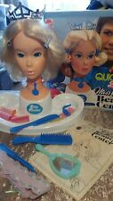 BARBIE DOLL MISS AMERICA 1975 BEAUTY CENTRE QUICK CURL MOD VINTAGE RARE HEAD