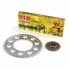 D.I.D Upgraded Chain & Sprocket Kit For Honda 1999 CBR900RR-X Fireblade 3601150