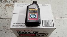 NEW OEM TOYOTA 5W30 GENUINE MOTOR OIL CASE OF 12 QUARTS .